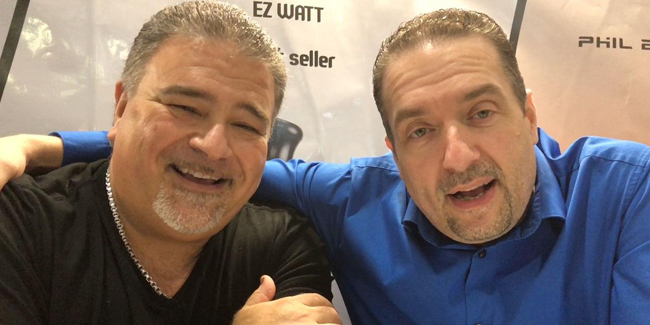 Vapexpo Lille 2018 Phil Busardo Dimitris Agrafiotis